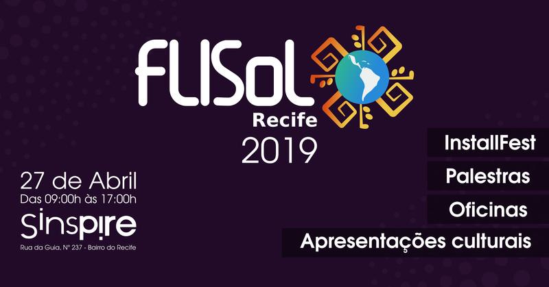 Inscrição FLISOL Recife 2019