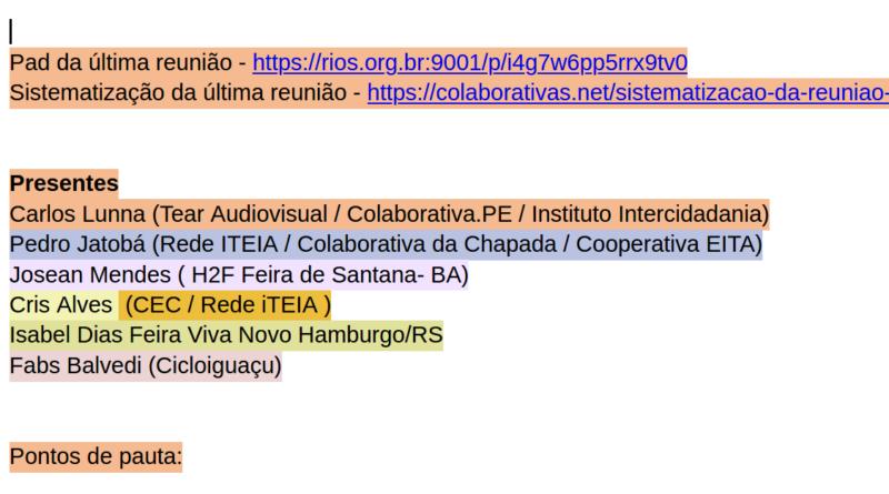 Sistematização da reunião 12/12/2019