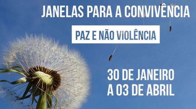 Convite para praticar a não violência e viver uma experiência de comunidade virtual