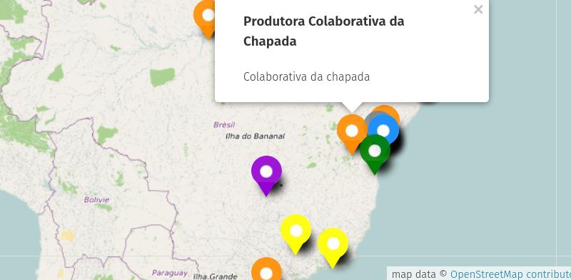 Publicada representação cartográfica do mapeamento 2017/2018 da Tecnologia Social